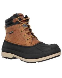 Skechers - Work Robards Slip Resistant Boot - Lyst