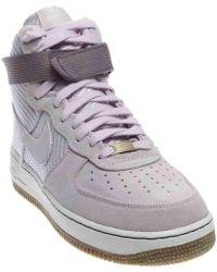 Nike | 654440-500: Air Force 1 07 High Premium Sneaker (9 B