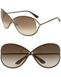 Tom Ford - Ft0130 Miranda Butterfly Sunglasses - Lyst