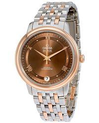 Omega - De Ville Automatic Ladies Watch 424.20.33.20.13.001 - Lyst