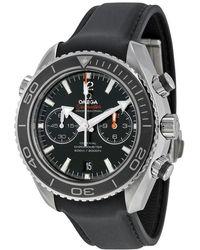Omega - Seamaster Planet Ocean Chrono Watch 232.32.46.51.01.003 - Lyst