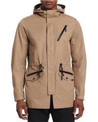 Calvin Klein - Classic Fit Raincoat - Lyst