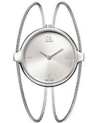 CALVIN KLEIN 205W39NYC - Agile Quartz Watch K2z2s11w - Lyst