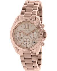 Michael Kors - Mk5799 Bradshaw Stainless Steel Watch - Lyst