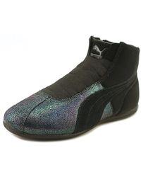 pretty nice 448f5 99aad Lyst - PUMA Basket Deep Summer Women's Sneakers in Black