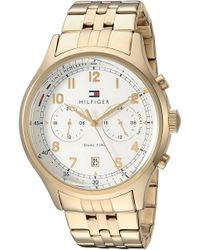 Tommy Hilfiger - Emerson Gold-tone Chronograph Ladies Watch 1791390 - Lyst