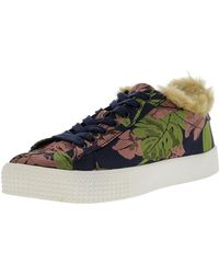 74cca52f59d Steve Madden - Jordy Floral Ankle-high Fashion Sneaker - 5m - Lyst