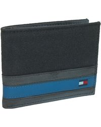 Tommy Hilfiger - Leather Exeter Passcase Billfold Wallet - Lyst