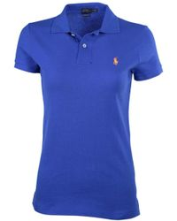 Polo Ralph Lauren - Classic Fit Mesh Pony Shirt-bright Imperial 2115-small - Lyst