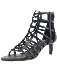 CALVIN KLEIN 205W39NYC - Neah Mini Saffiano Women Us 9.5 Black Heels - Lyst
