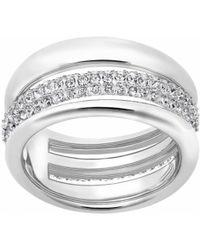 Swarovski - Exact Ring - Lyst