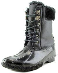 Steve Madden - Tstorm Round Toe Synthetic Rain Boot - Lyst