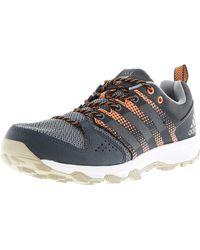 c94ef566957c adidas - Galaxy Trail Dark Grey   Tech Glow Orange Ankle-high Running Shoe -