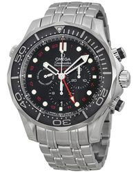 Omega - Seamaster Diver Automatic Chronograph Watch 21230445201001 - Lyst