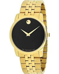 Movado - 606997 Museum Classic Stainless Steel Watch - Lyst