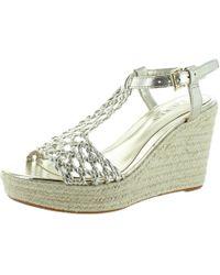 Polo Ralph Lauren - Lauren Ralph Lauren Hailey Espadrille Wedge Sandals - Lyst