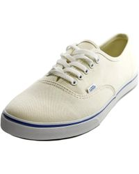 huge discount 46eca 1d2aa Vans - Authentic Lo Pro Ivory Sneakers - Lyst