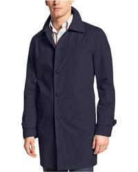 Tommy Hilfiger - Single Breasted Raincoat - Lyst