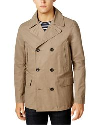 Tommy Hilfiger - Double-breasted Raincoat - Lyst