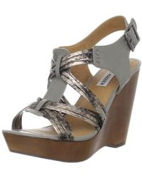 a20b1fa87d8 Steve Madden - Womens  tampaa  Wedge Shoes - Lyst