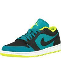 2e089611746c Nike - Air Jordan 1 Low 305 Ankle-high Leather Fashion Sneaker - Lyst