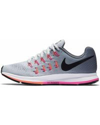 Nike - Air Zoom Pegasus 33 Running Shoes Wide 831357-006 Cool Blast - Lyst