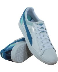 252673e8f080 Lyst - Puma X Pink Dolphin Suede V2 Mens Shoes in Blue for Men