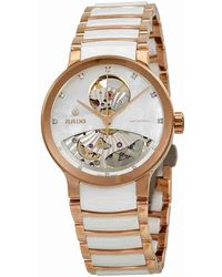 Rado - Centrix Open Heart Mother Of Pearl Dial Automatic Ladies Watch R30248902 - Lyst