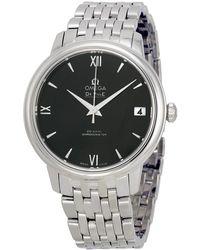 Omega - De Ville Prestige Automatic Ladies Watch 42410332001001 - Lyst