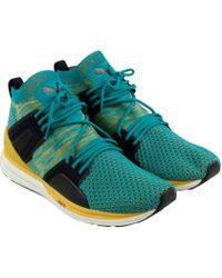 ff244e59d9ca PUMA - Blaze Of Glory Limitless High Evoknit Athletic   Sneakers - Lyst
