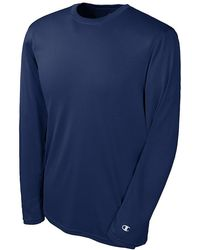 Champion - Double Dry Long Sleeve Tee - Lyst