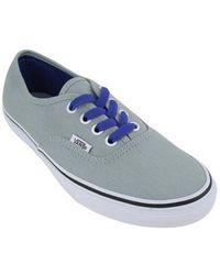 20d9158852 Lyst - Vans Unisex Authentic Pop Sneakers Griffinferngreen M3.5 W5 ...