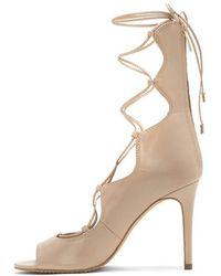 Vince Camuto - Mistal Lace-up Heel - Lyst