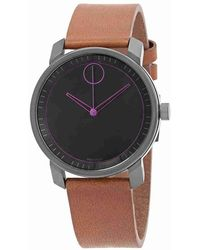 Movado - Bold Black Dial Watch 3600488 - Lyst