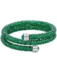 Swarovski - Crystal-accented Wrap Bracelet - Lyst
