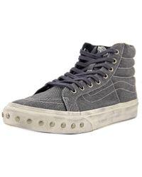 c64484f913 Lyst - Vans Unisex Sk8-hi Slim (suede Leopard) Skate Shoe in Black ...