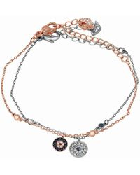 Swarovski - Crystal Wishes Evil Eye Bracelet Set - Blue - 5272256 - Lyst