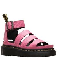 2bf4dc33c9b50 Lyst - Dr. Martens Clarissa Chunky Strap Sandal in Purple