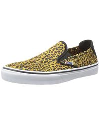 Skechers - Womens The Menace Top Cat Woven Animal Print Fashion Loafers - Lyst