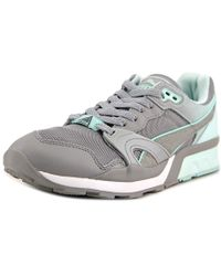 PUMA | Xt-1 Blur 1 Women Round Toe Synthetic Gray Sneakers | Lyst