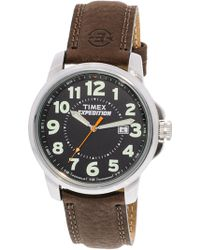 88c7e306a Timex Expedition Metal Tech Watch in Metallic for Men - Lyst