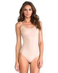 Spanx - Trust Your Thinstincts - Thong Bodysuit - Lyst