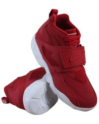 wholesale dealer 78706 26a34 Nike - 309434-600 Air Diamond Turf Gym Red White - Lyst