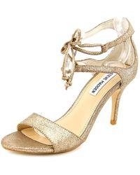 a1cbf4f49ec5 Steve Madden - Salsaa Women Open Toe Leather Sandals - Lyst