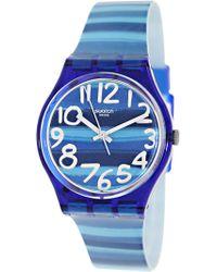 Swatch - Originals Gn237 Plastic Swiss Quartz Fashion Watch - Lyst