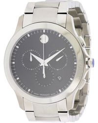 Movado - Masino Stainless Steel Chronograph Watch - Lyst
