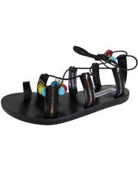 5367f9bc621 Lyst - Steve Madden Madylynn Platform Sandals in Black