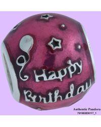 PANDORA - Birthday Celebration Charm - Lyst