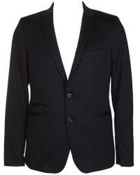 Calvin Klein - Classic Slim-fit Double Button Notched Lapel Blazer M - Lyst
