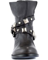 Steve Madden - Steven By Caris Motorcycle Boots - Lyst